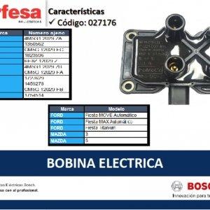 4858SE BOBINA ENCENDIDO FORD BOSCH (27176)