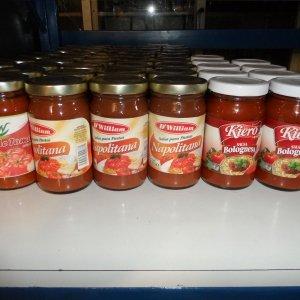 Salsa Napolitana – Bolognesa -Pure de Tomate
