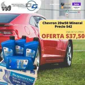 Chevron 20w50 Mineral